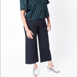 Dusen Dusen High waist black pants
